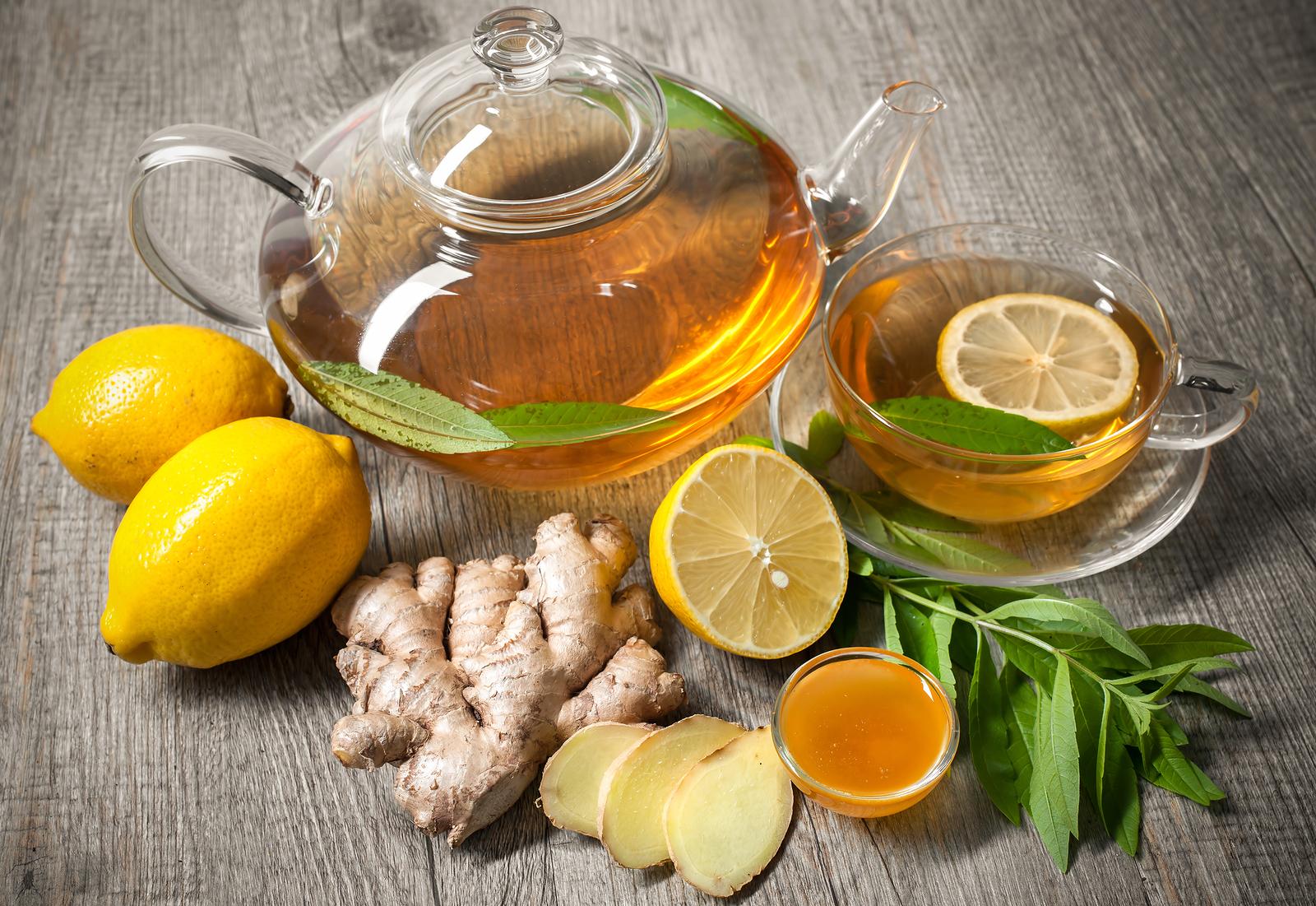 Ginger Lemon Honey Tea Weight Loss